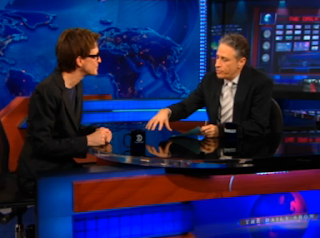 Rachel Maddow spoke with the Daily Show's Jon Stewart