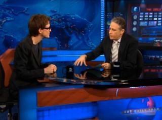 Rachel Maddow spoke with the Daily Show's Jon Stewart