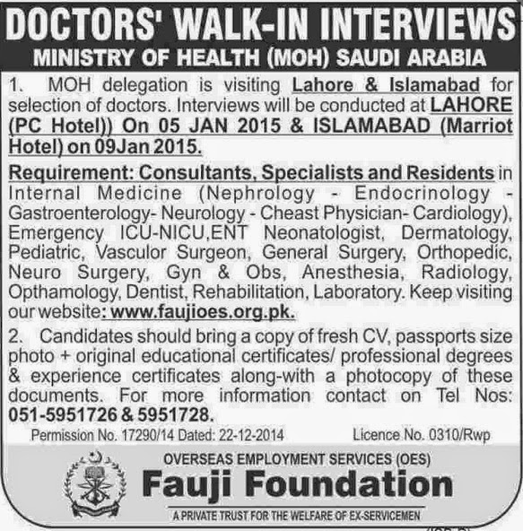 Latest Medical Jobs