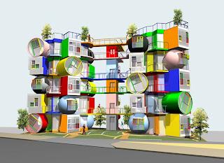 Apartemen Terunik  Di Dunia