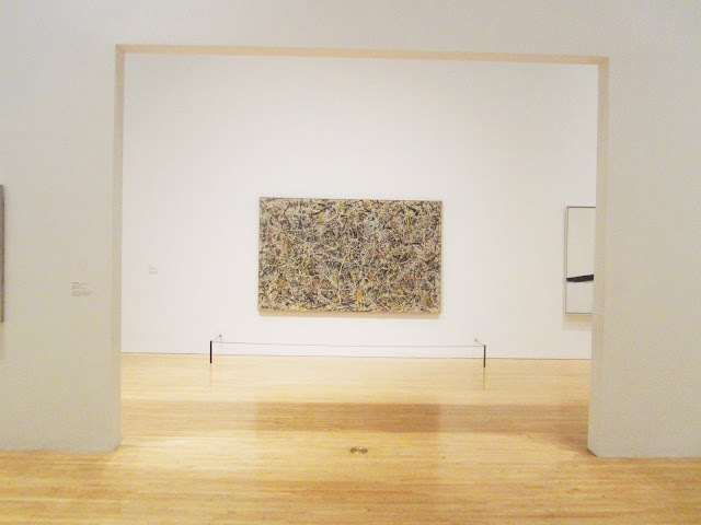 Number 1 by Jackson Pollock from a distance