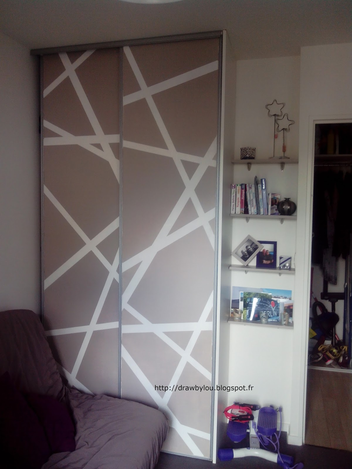Draw By Lou Des Portes De Placard Originales Diy