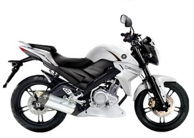 Yamaha All New Vixion 2013 Putih