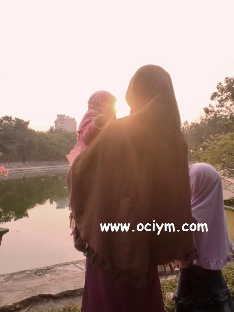 Sunset di Taman Kota