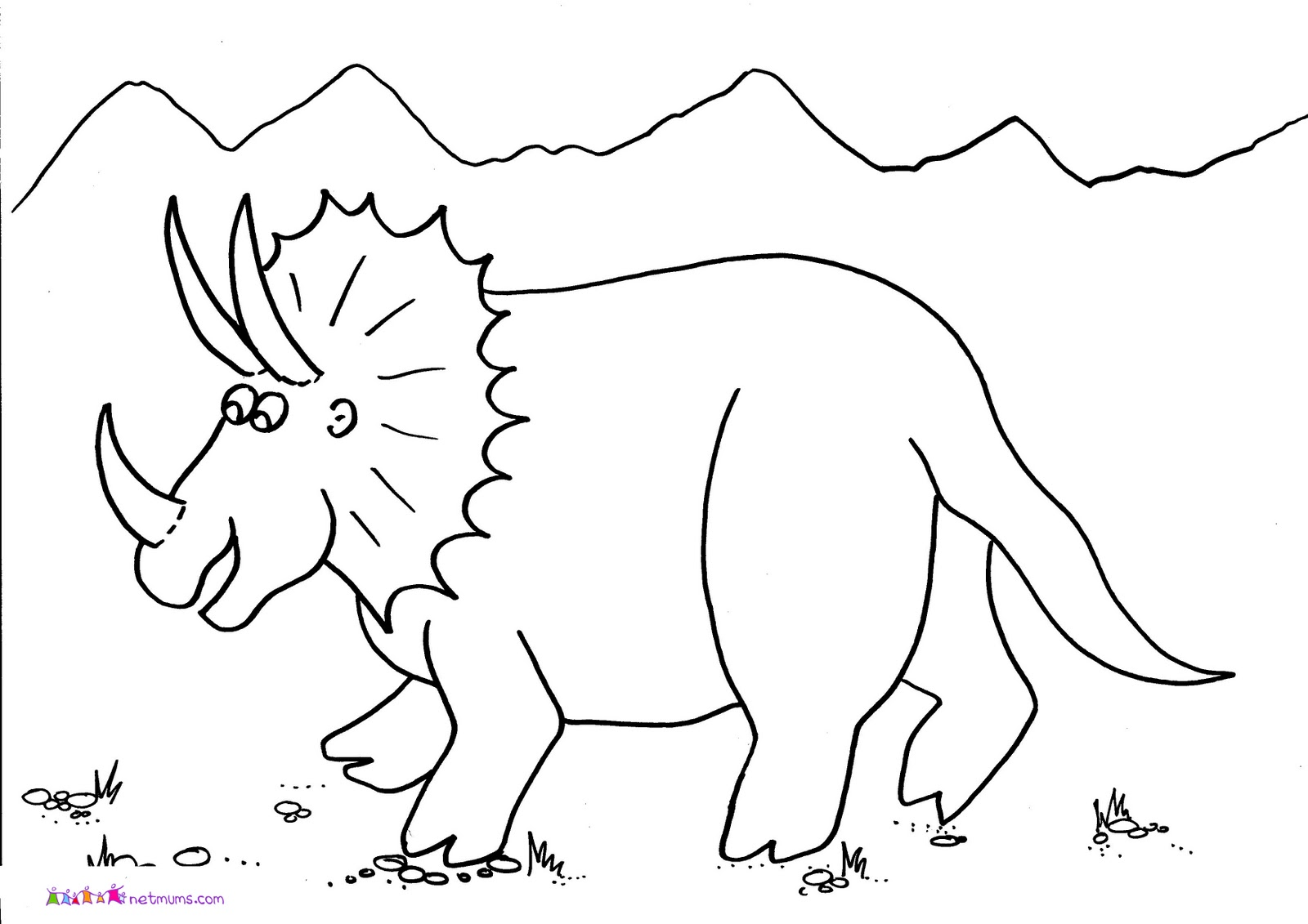 funny pictures of animals dinosaurs pictures to colour
