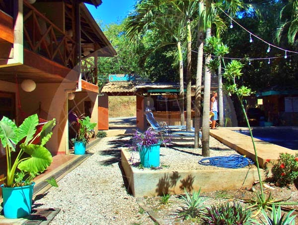 Zonas comunes, Chocolate Hotel. Tamarindo.