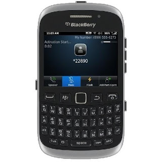 Straight Talk BlackBerry Tutorial - Use *22890 to Activate