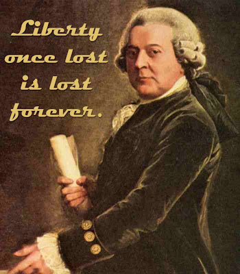 Adams - Liberty Once Lost is Lost Forever