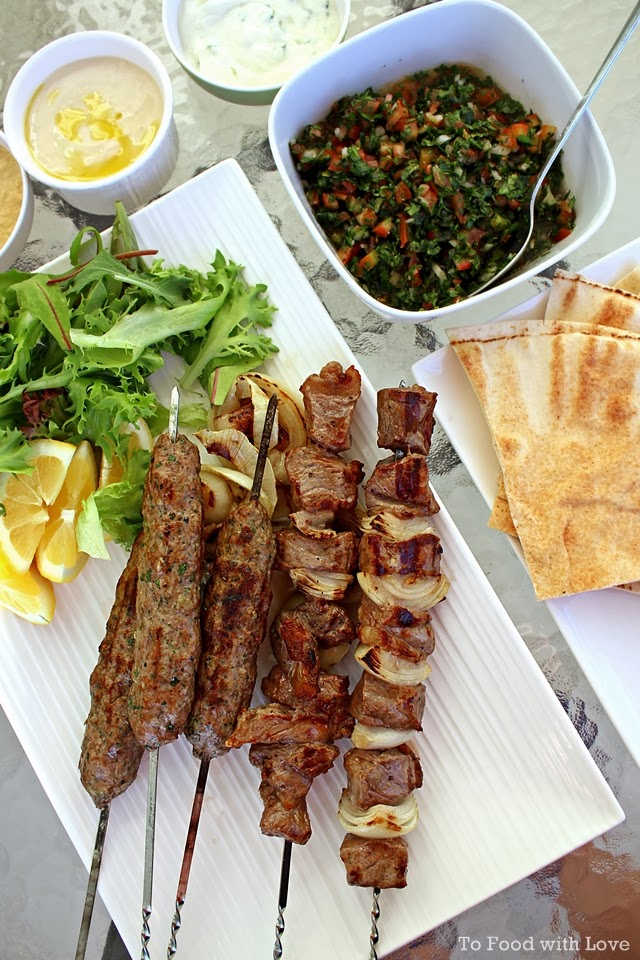 To Food with Love: Lamb Kofta Kebab