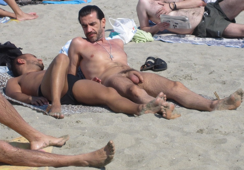 from Tony naked boys spy in the beach