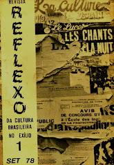 Revista Reflexo da cultura brasileira no exílio