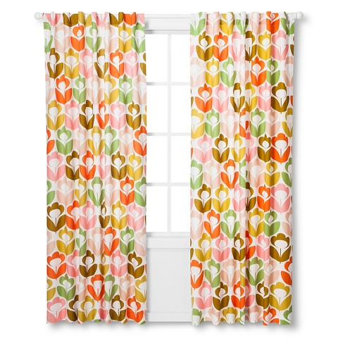The Orla Kiely Window Panels At Target Are Now 20 AND You Can Save An Additional 10 Off With Code AUGUST10 If Buy Two Sets This Ends Up Being About