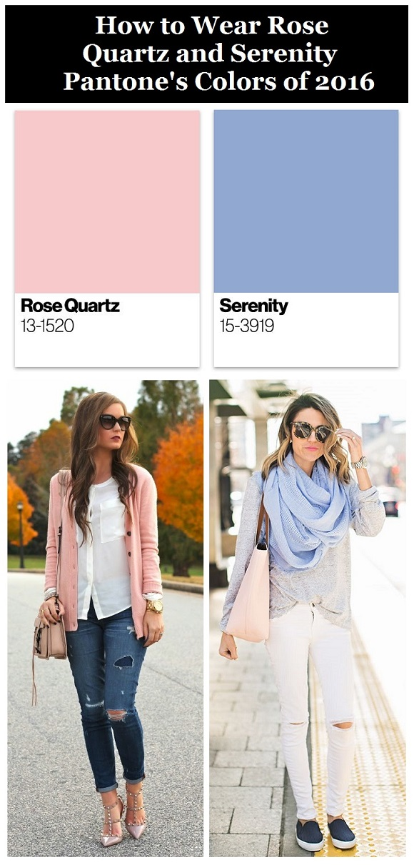 Colors of the year 2016, fashion blogger, outfit ideas, #Pantone colors