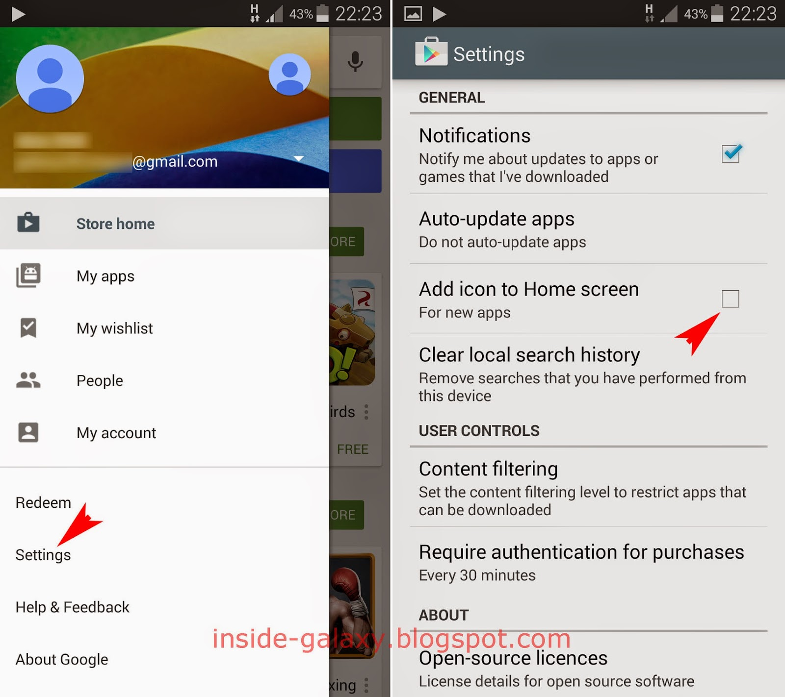 Clear Web Browsing History Inside Galaxy Search How To Turn Off Auto Add  Icons For Newly