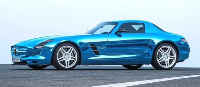 SLS AMG Coupé Electric Drive, automóvil eléctrico con tracción a las cuatro ruedas con un motor eléctrico en cada una