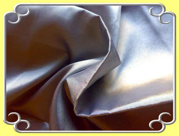 Gray Silk Fabric