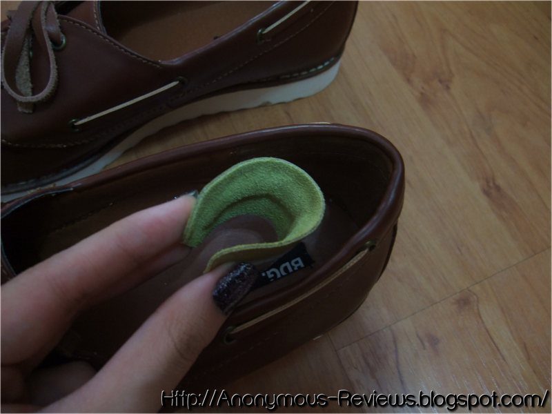 how to put heel liners in shoes