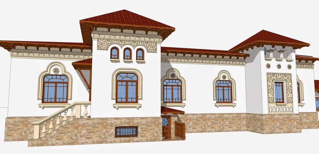 casa neoromaneasca renovare, proiect arhitect
