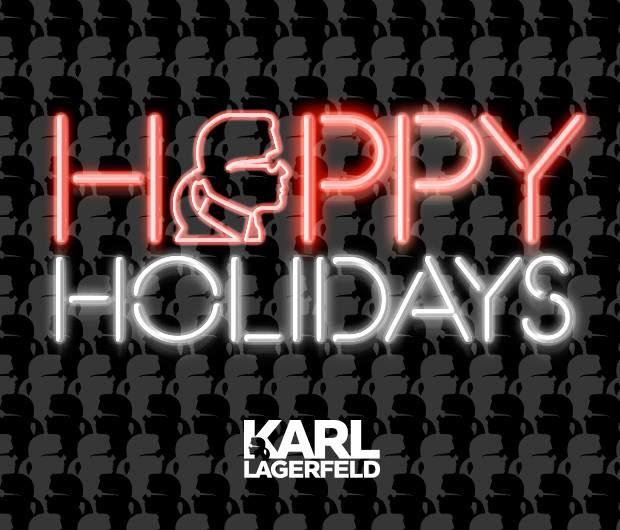 Christmas Karl Lagerfeld 2013