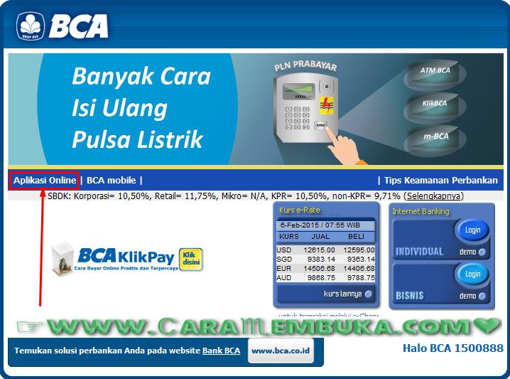 klik aplikasi online