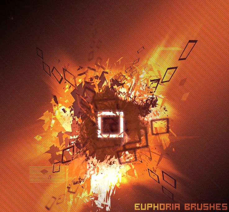 "Euphoria ""euphorie"" Brushes photoshop gratuit"