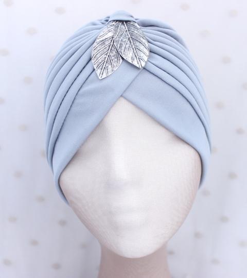 Colección Buceando - Turbante gris básico