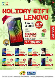 Promo Akhir Tahun Lenovo Holiday Gift