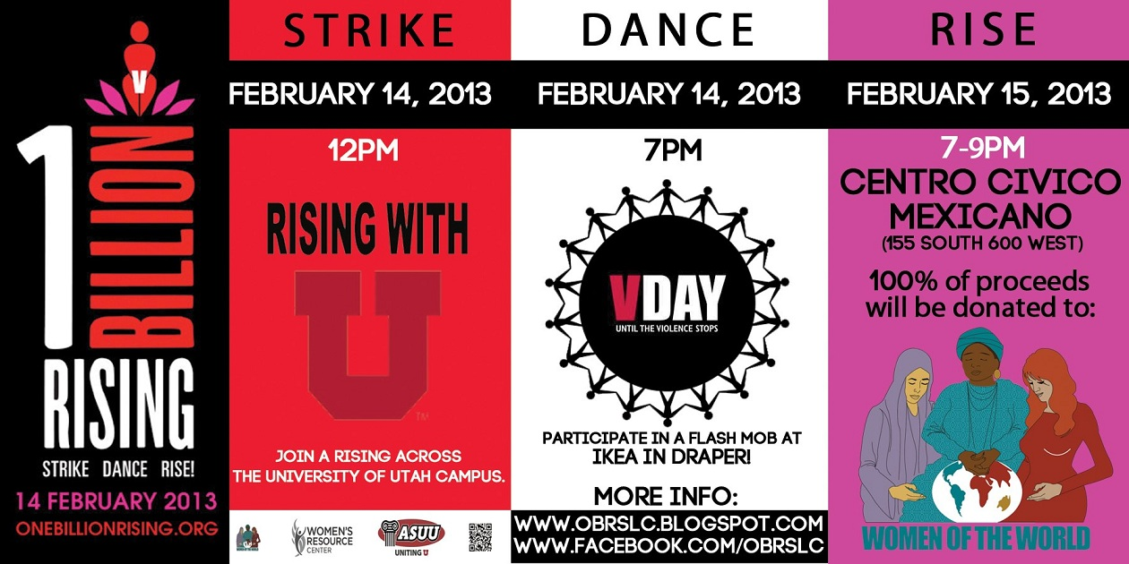 One Billion Rising - SLC