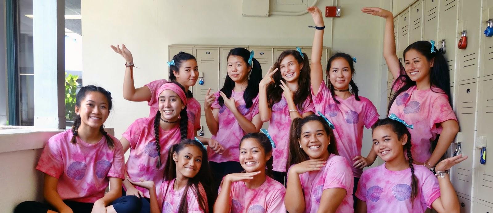 Freshman Initiation Week at Sacred Hearts Academy