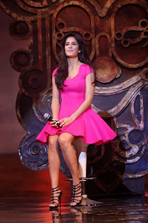 Actress Katrina Kaif  Pictures in Pink Short Dress at Dhoom 3 Movie Merchandise Launch 0012.jpg