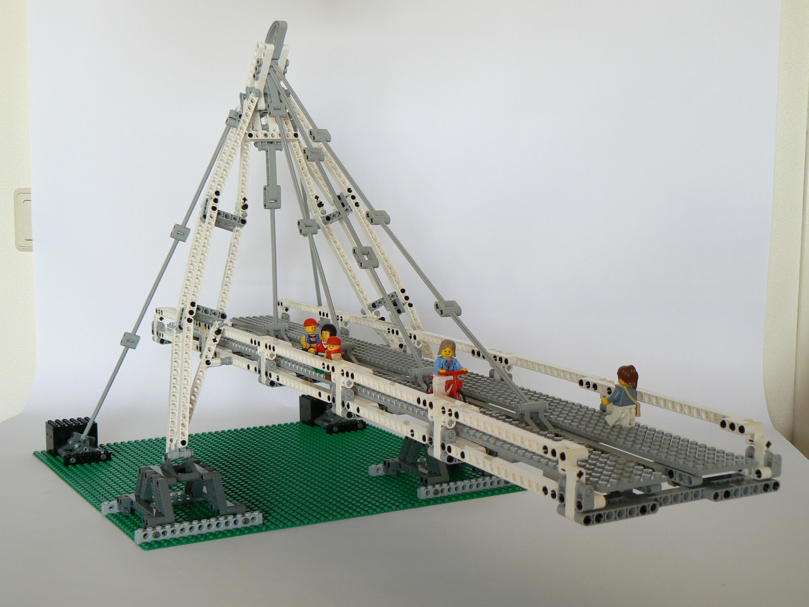 Bridge River Picture Bridge Lego