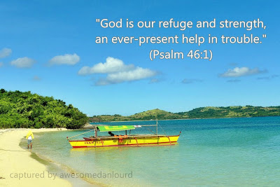 "Simplymarrimye - ""God is our refuge and strength, an ever-present help in trouble."" Psalm 46:1"