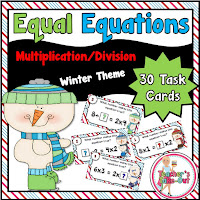 Equal Equations using Multiplication and Division