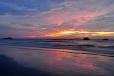 Senja di Pantai Balok