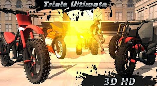 Screenshots of the Trials ultimate 3D HD for Android tablet, phone.