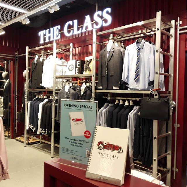 Check out The Class fashion style at Mid Valley Megamall now =)