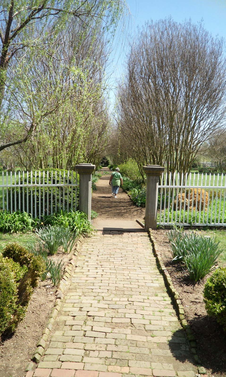 Entrance Into Garden From House William Frost An English Gardener