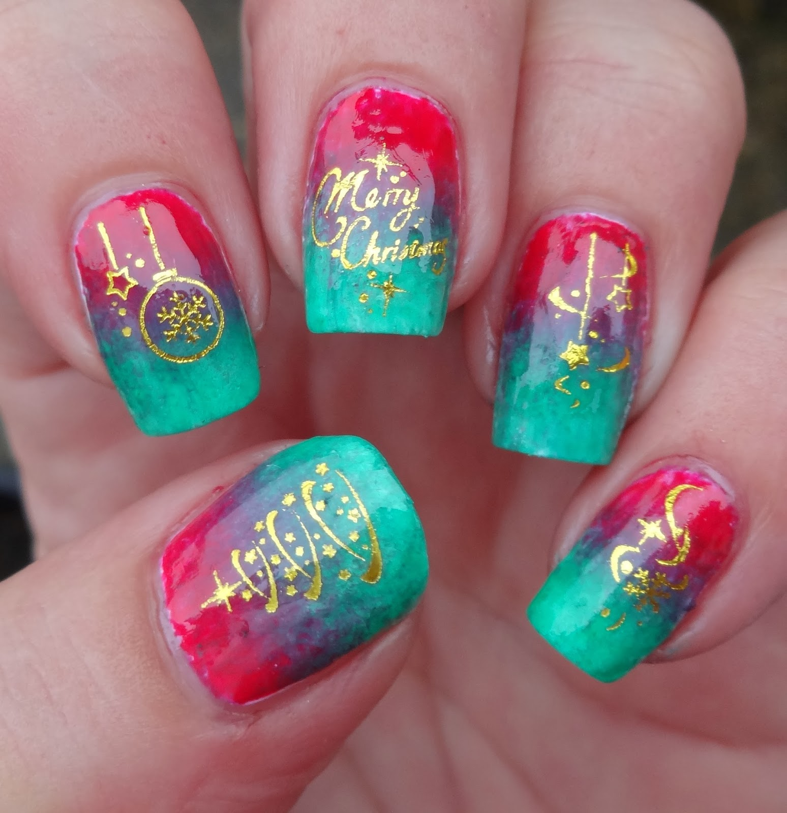 Wendy's Delights: Sparkly Nails