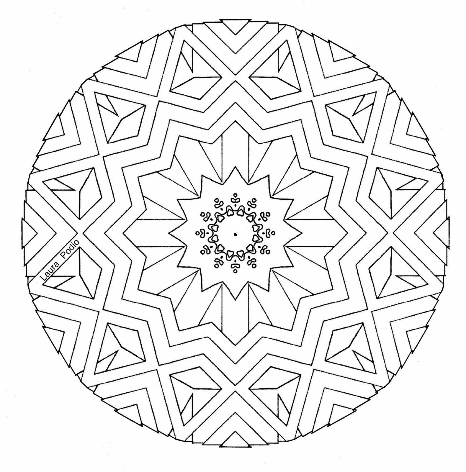14 diseños de mandalas para colorear - ARTE TERAPIA CON MANDALAS ...