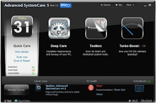 Advanced SystemCare Pro 6.0.8.182 Final Full Key