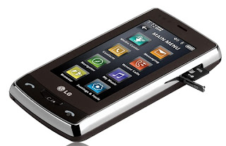 LG Versa VX9600 touchscreen Phone with full QWERTY keypad