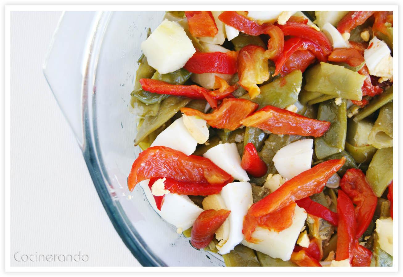 Cocinerando ensalada de jud as verdes - Ensalada de judias verdes arguinano ...