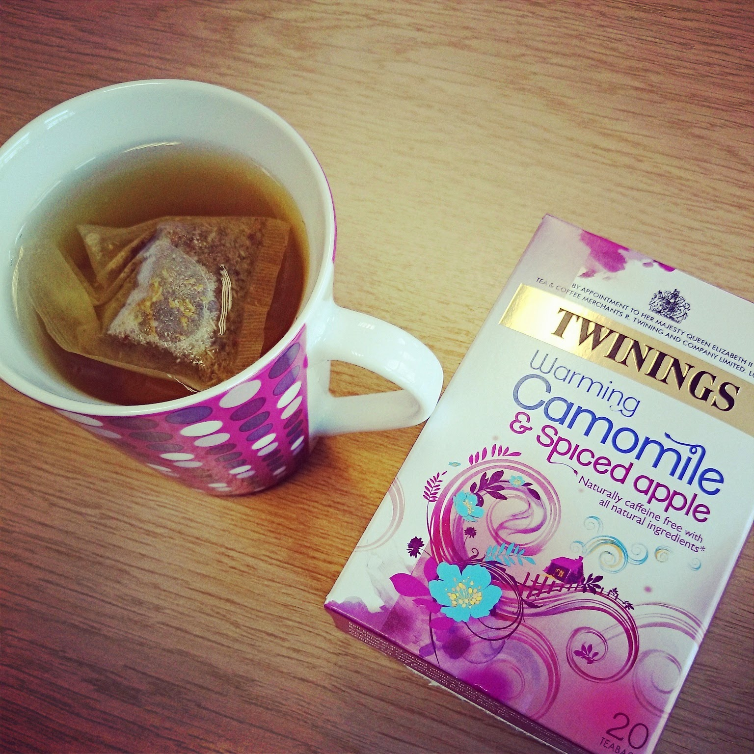 twinings camomile spiced apple tea bags detox teatox