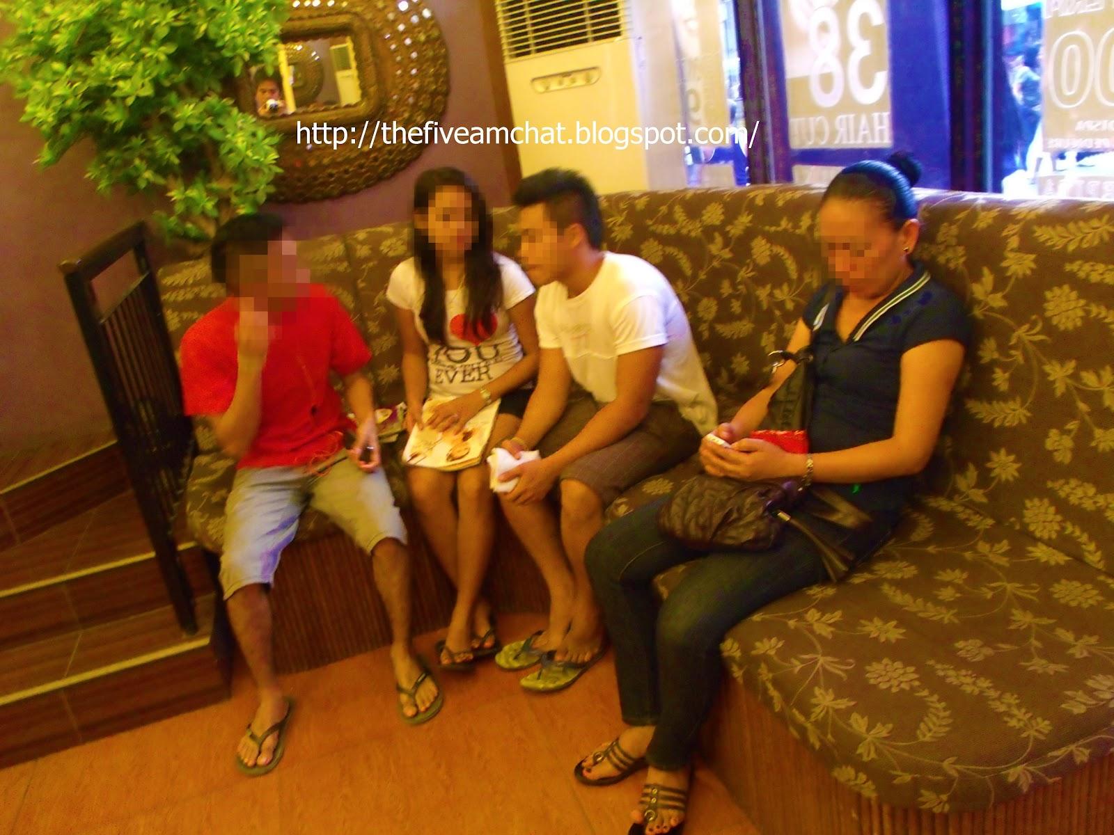 The early morning chat petra and pepita encarnacion group for V encarnacion salon