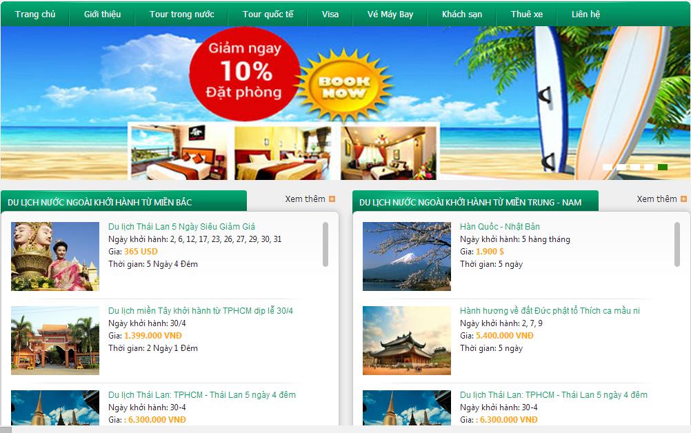 Theme Blogger Du Lịch/ Travel Đẹp, Template Làm Trang Du Lịch Cho Blogspot