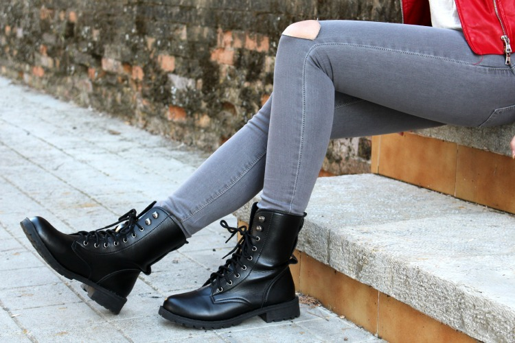 OOTD: Combat boots