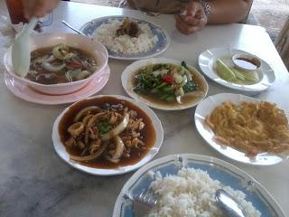 - lepaking at Kemaman, Terengganu -