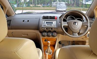 Interior Honda City GD8