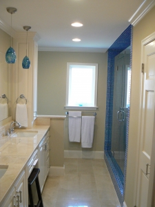 renovating bathrooms in the summer