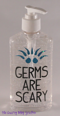 Germs are Scary Hand Sanitizer